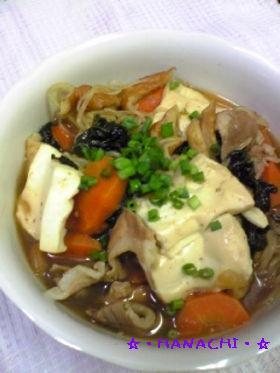 ♪給食メニュー☆肉豆腐★すきやき風~♪