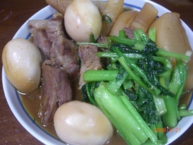 んまいッッ(^◇^)豚の角煮