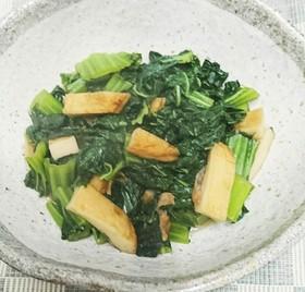 生高菜と平天の煮物