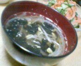 簡単☆海苔スープ
