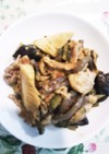 ご飯がすすむゴーヤナスのピリ辛味噌炒め