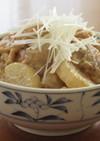 鶏もも肉と大根とこんにゃくの味噌煮