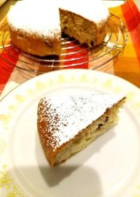 炊飯器でポン!簡単バナナケーキ