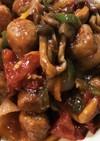 冷凍食品で簡単!肉団子で酢豚風♪