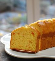 アーモンドのオレンジケーキの写真