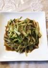 白菜の千切りカレー味噌炒め