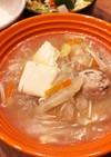体ポッカポカ!鶏団子と白菜のスープ