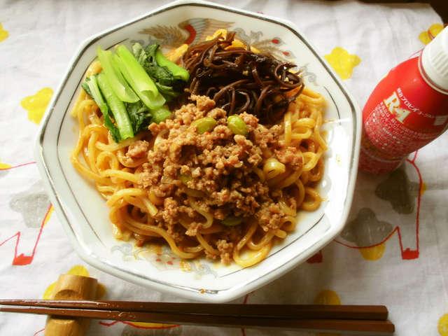 汁 なし 担々麺 レシピ 人気