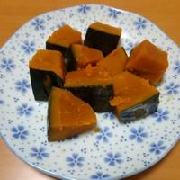 砂糖としょうゆだけ!基本のかぼちゃの煮物