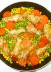 鶏手羽元の蒸し焼き♪簡単ケチャップ味