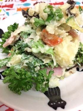 ☆みようがパセリ大葉のポテトサラダ