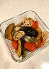 ゴロゴロ野菜の南蛮漬け