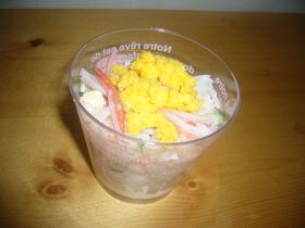 甘酢しょうがで簡単サラダ寿司♡
