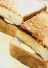 マロンクリームのバタートーストサンド