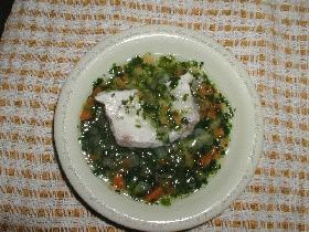 離乳食メニュー♪白身魚の中華風野菜あんかけ
