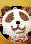 パンダ バースデーケーキ
