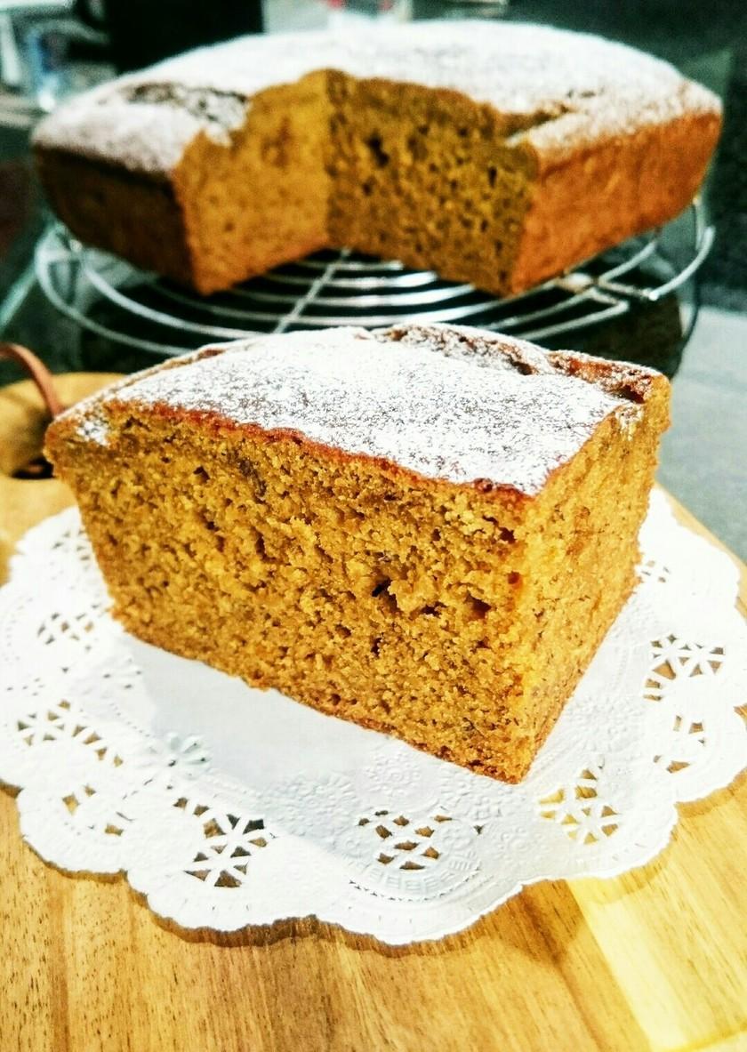 米粉とオリーブオイルのバナナケーキ