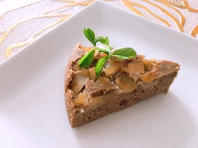 炊飯器【りんご♡そば粉のケーキ】
