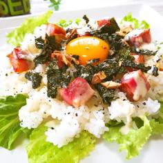 ◆お家DEカフェ飯♪カルボナーラ風ごはん