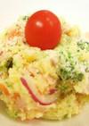 カレー風味のポテトサラダ♪