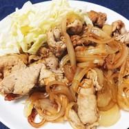 簡単!健康!美味!黒酢入り生姜焼