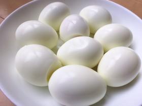 簡単ストレスゼロ☆つるつるゆで卵の作り方