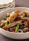 枝豆がんもと野菜の煮物