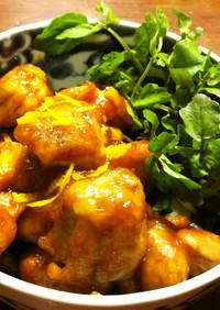 お弁当用 鶏もも肉の甘辛煮