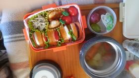 女の子が喜ぶ可愛いサンドイッチ簡単弁当