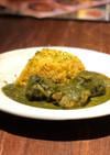 本格簡単インド式・チキンほうれん草カレー