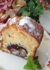 ふわふわ♡栗の渋皮煮パウンドケーキ