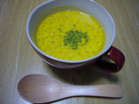 究極に簡単★あっとゆう間★かぼちゃスープ