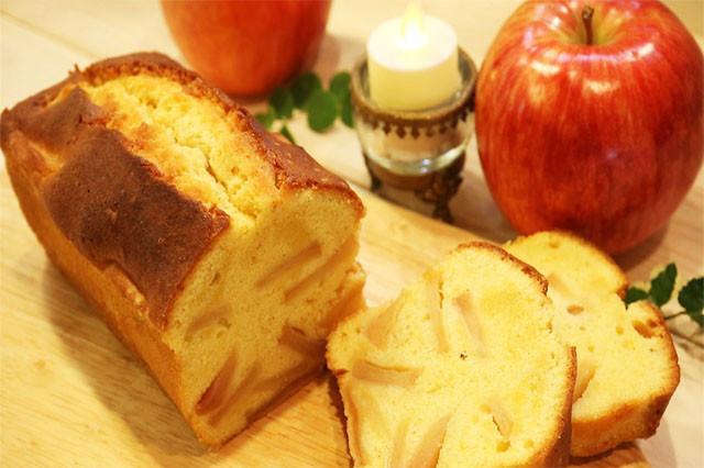 【簡単美味しい!】りんごのパウンドケーキ