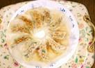 スタミナ満点❗ニラたっぷり羽根つき餃子☺