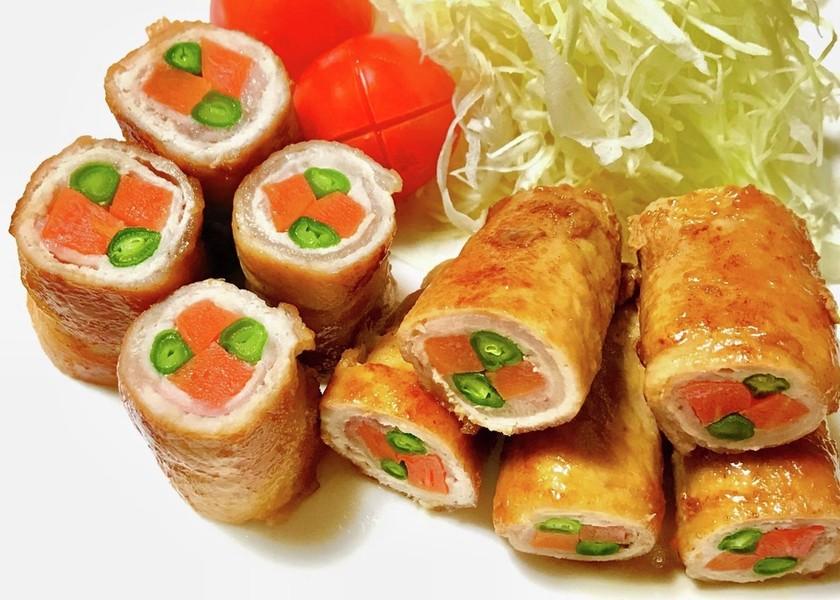 にんじん&いんげんの豚肉巻き☆