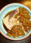 フライパンで簡単♬カジキのしょうゆ煮♬