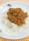 野菜とひき肉のぶっかけ丼