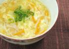 かきたまにんじんスープ