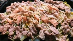 簡単!秋鮭と豚肉の温野菜プレート