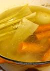 簡単手作り鶏スープの素(チキンストック)