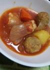 ささ身と野菜のトマト煮