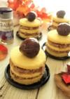 薩摩芋と栗の和風ネイキッドケーキ
