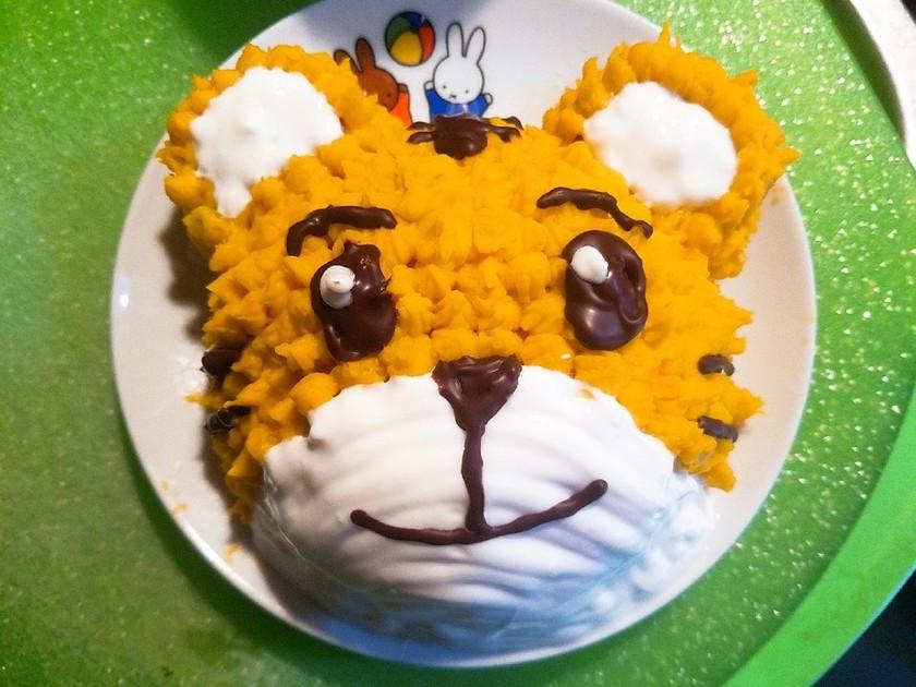 1歳の誕生日に♡しまじろうケーキ