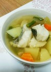 鱈の食べるスープ