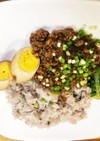 ミツカン鶏のさっぱり煮汁であんかけご飯