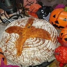 スペルト小麦のカボチャカンパーニュ