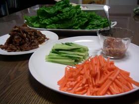 野菜がメインのサラダ感覚の手巻き寿司