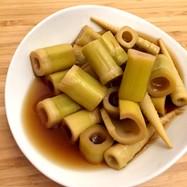 四方竹《たけのこ》の煮物