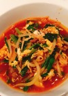 糖質制限 簡単食べるユッケジャン風スープ