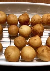 簡単♡豆腐と米粉の揚げドーナツ♡
